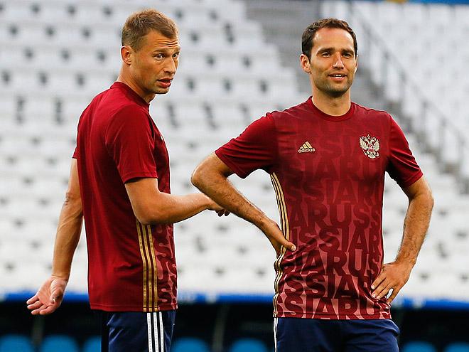 Василий Березуцкий и Роман Широков