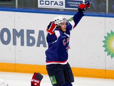 Маттиас Вейнхандль забросил шайбу в ворота ЦСКА в заключительном матче