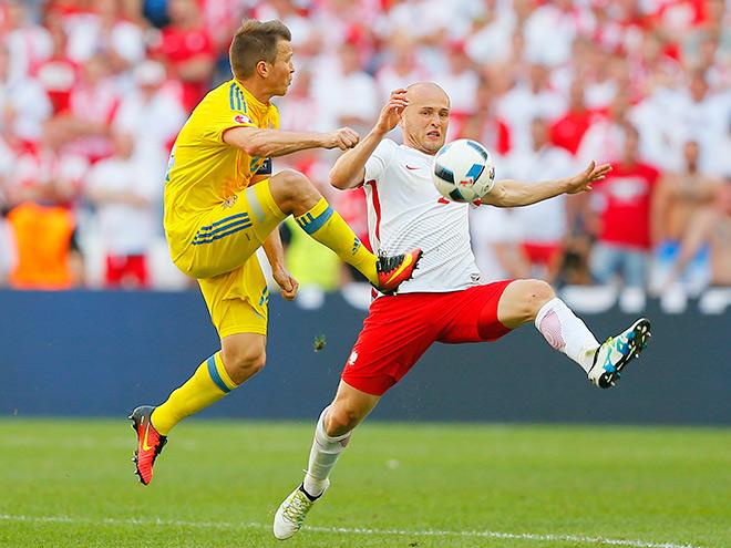 Евро-2016. Украина — Польша. Фото