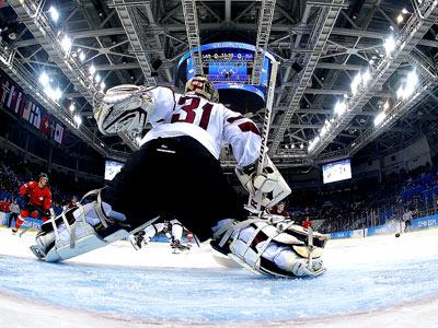 Хоккей. Швейцария обыграла Латвию