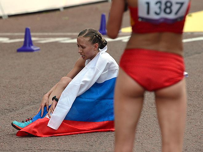 Старт чемпионата мира по лёгкой атлетике