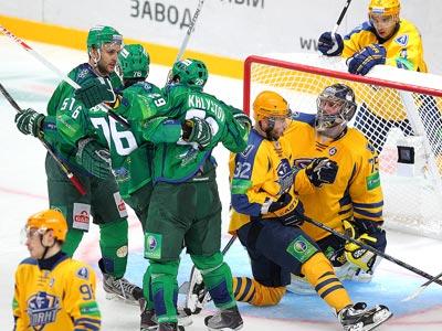 «Салават Юлаев» выиграл пятый матч кряду
