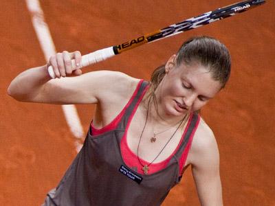 Лапущенкова не смогла прорваться в финал