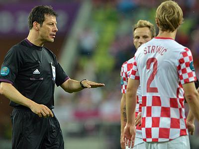 Хорваты остались недовольны судейством Штарка