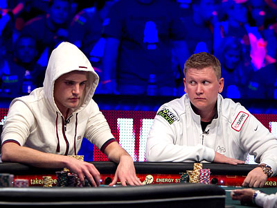 Main Event WSOP. Final table