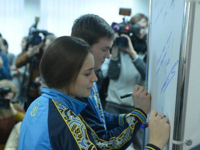 Власова – представительница Украины в шорт-треке