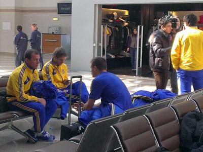 Сборная Украины прибыла в Польшу на матч отбора ЧМ