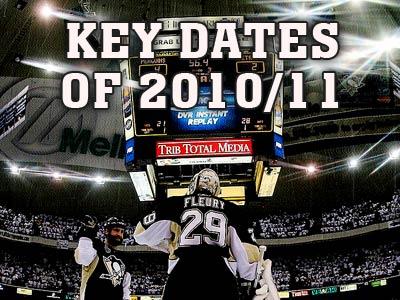 Главные даты сезона-2010/11 в НХЛ