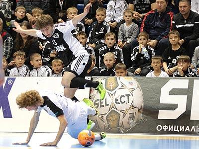 Первые матчи ¼ финала Кубка России по мини-футболу