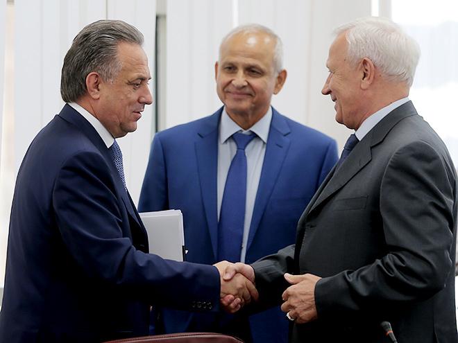 Виталий Мутко и Вячеслав Колосков