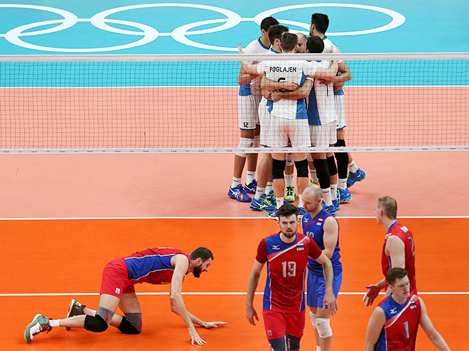 Рио-2016. Волейбол. Россия - Аргентина - 1:3