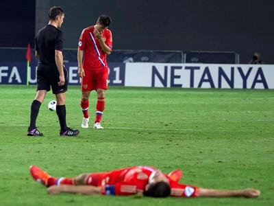 5 причин неудачи России на молодёжном Евро-2013