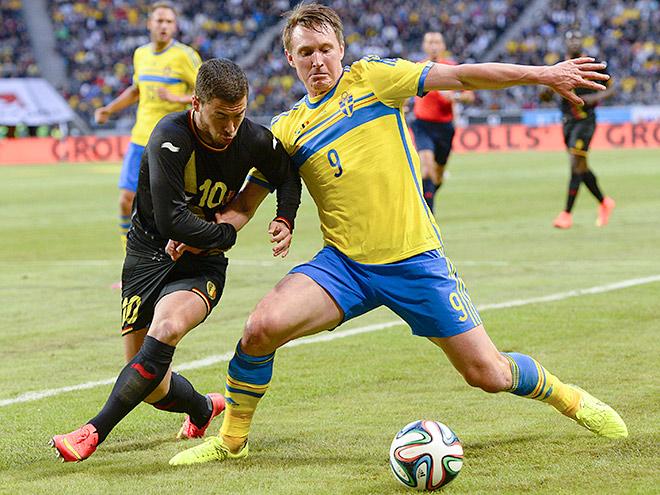 Бельгия обыграла Швецию