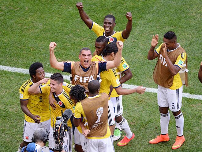 Игроки сборной Колумбии по футболу