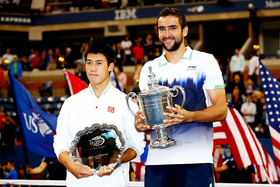 Кей Нисикори и Марин Чилич — финал US Open 2014