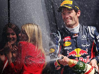 Гран-при Великобритании: Марк Уэббер одержал девятую победу в карьере
