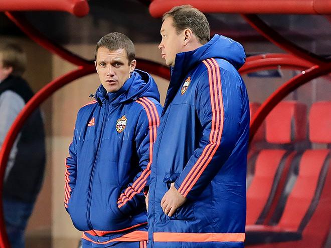 Виктор Гончаренко и Леонид Слуцкий