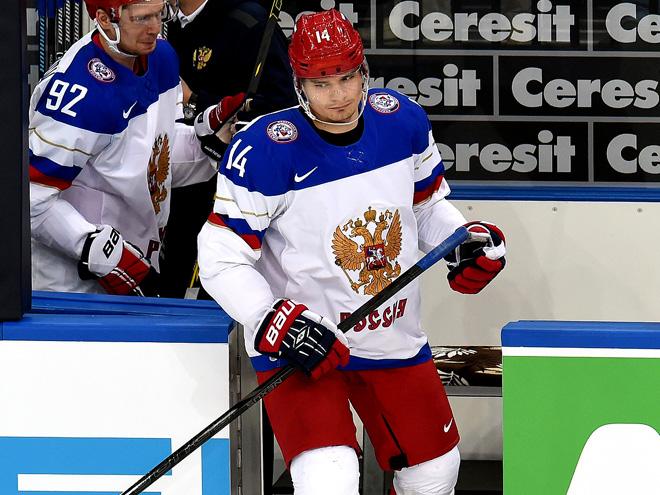 Россия обыграла Францию в четвертьфинале