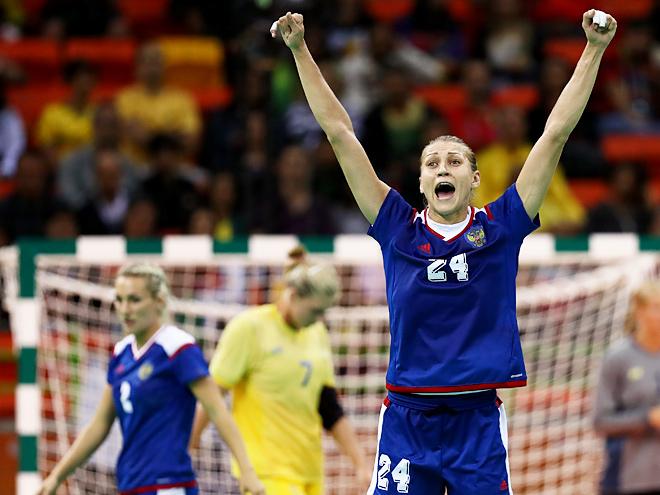 Гандбол. Россия – Швеция - 36:34