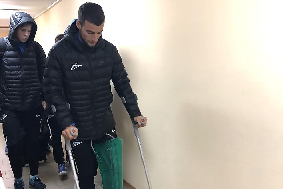 Маммана выбыл на 6-9 месяцев из-за травмы колена и пропустит ЧМ-2018