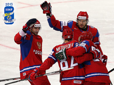 Сборная России выиграла стартовый матч на ЧМ