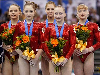 Долгожданное золото российских гимнасток