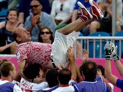 Интервью Автандила Барамидзе – тренера наших футболистов-паралимпийцев