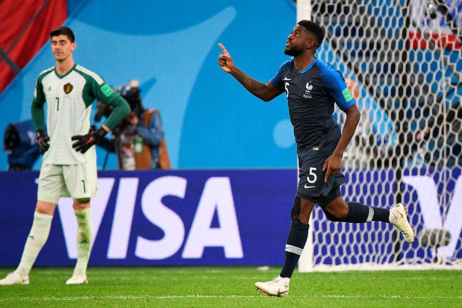 ЧМ-2018. Франция выиграла у Бельгии и вышла в финал! Как это было