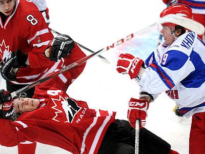И снова Россия против Канады