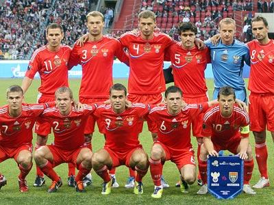 Мгновения матча Россия — Македония