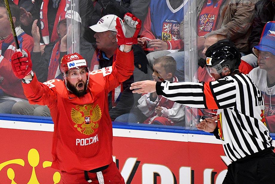 Россия – Чехия – 3:0, обзор матча ЧМ-2019