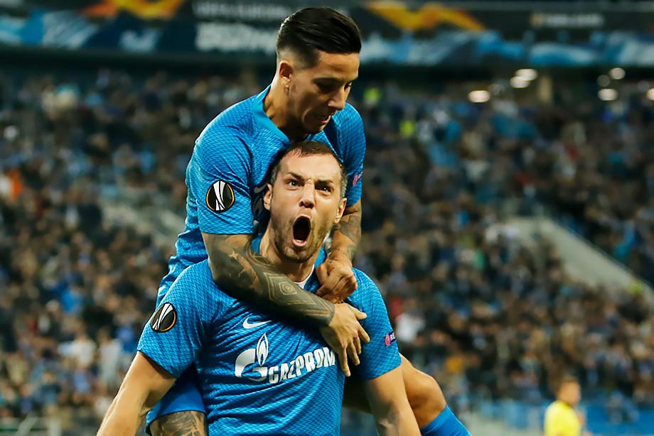 Дзюба не забил с пенальти. Но стал героем матча с «Бордо»