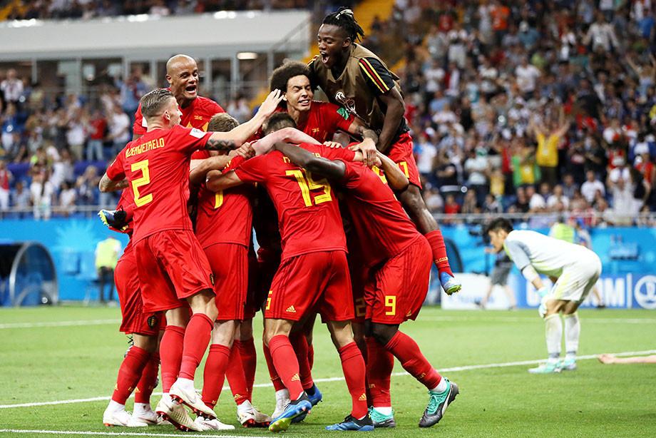 Бельгия — Япония — 3:2