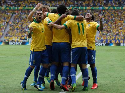 Бразилия обыграла Японию на Кубке Конфедераций