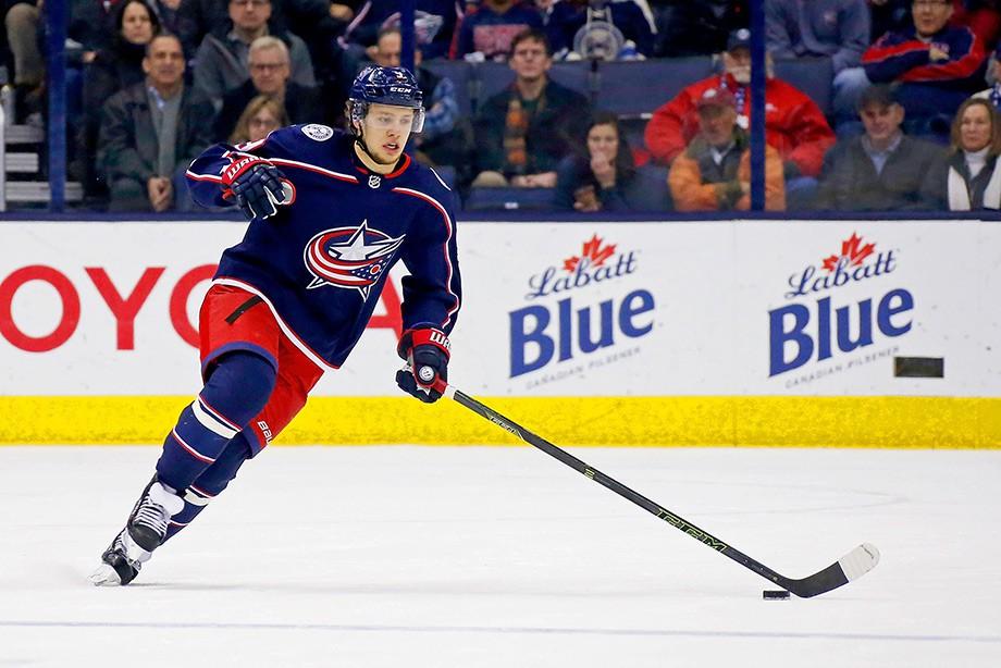 Три очка Панарина помогли «Коламбусу» побороть «Вегас» вматче НХЛ