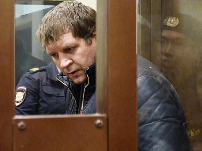 Александр Емельяненко угодил за решётку