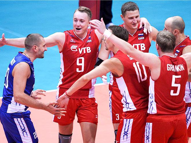 Россия: пять побед из пяти и 8 очков в активе