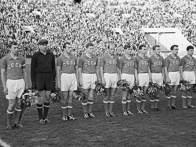 1960 – год, когда сборная СССР выиграла чемпионат Европы по футболу