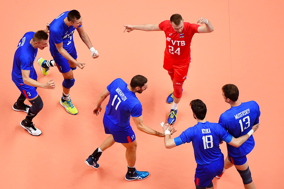 Россия — Франция — 3:0