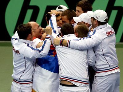 Сербия празднует победу над США