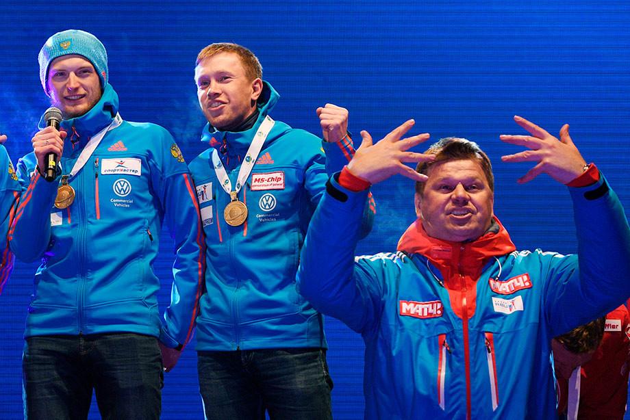 Биатлон, скандал – Дмитрий Губерниев назвал Максима Цветкова слабаком