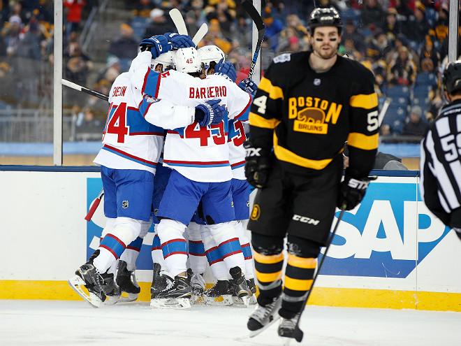 «Монреаль» обыграл «Бостон» в «Зимней классике»