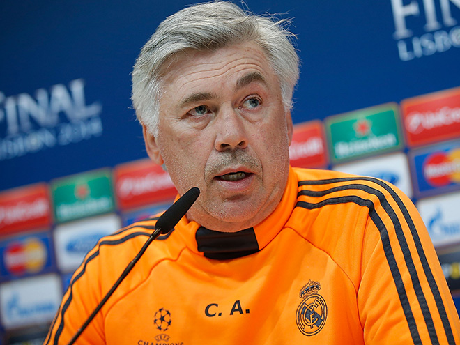 Главный тренер «Реала» Карло Анчелотти