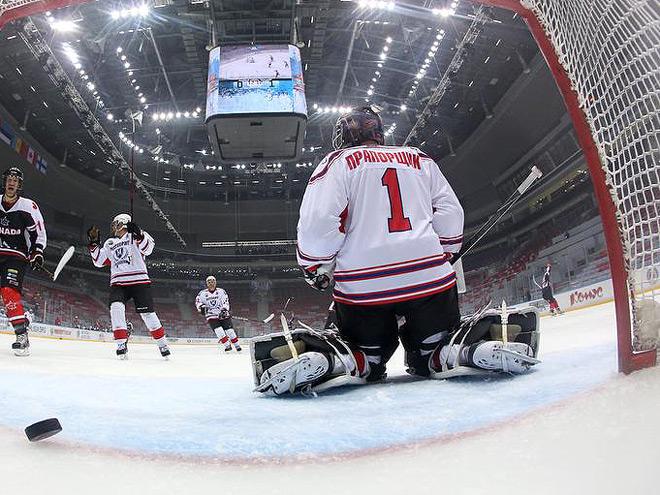 НХЛ встретила День Победы
