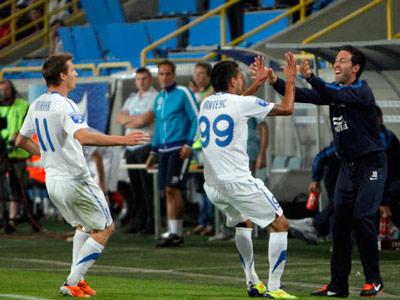 Сегодня «Днепр» сыграет первый матч плей-офф раунда Лиги Европы