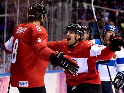 Сочи-2014. Хоккей. Финляндия - Канада - 1:2 (ОТ)
