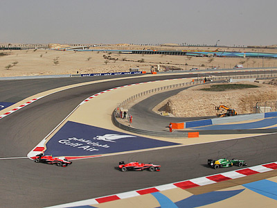 «Маруся» на Гран-при Бахрейна Формулы-1