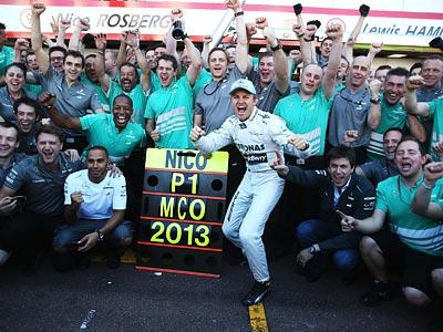 Статистика Гран-при Монако-2013
