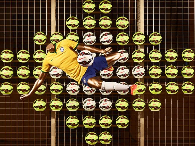 Nike представил футбольные инновации 2014 года