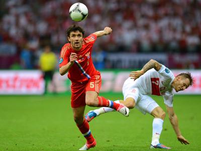 Юрий Жирков на евро-2012